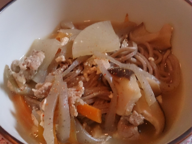 けんちん蕎麦レシピ
